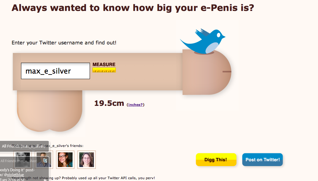 How does your penis measure